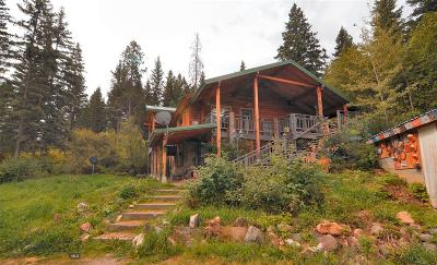 Single Family Home For Sale: 3077 Bear Canyon Road
