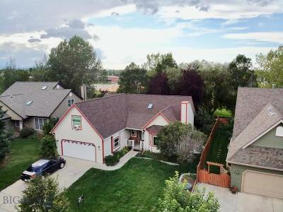 Bozeman Single Family Home For Sale: 1109 Woodland Drive