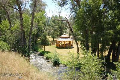 Ennis Single Family Home For Sale: 400 Jack Creek