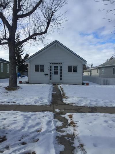 Conrad Single Family Home For Sale: 16 S Virginia St