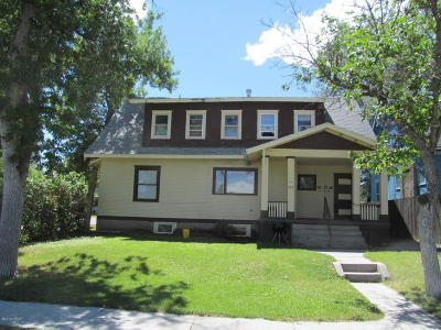 Cascade County, Lewis And Clark County, Teton County Multi Family Home For Sale: 526 5th Ave N