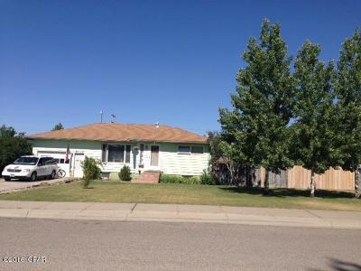 Conrad Single Family Home For Sale: 502 S Michigan St