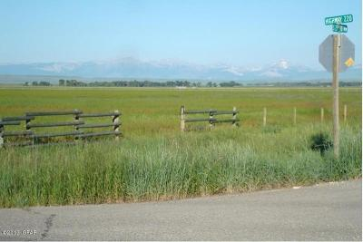 Choteau Residential Lots & Land For Sale: 27th Rd NW Hwy 220