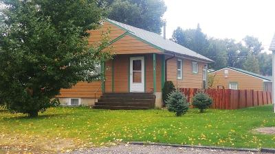 Choteau Single Family Home For Sale: 311 8th Ave NW