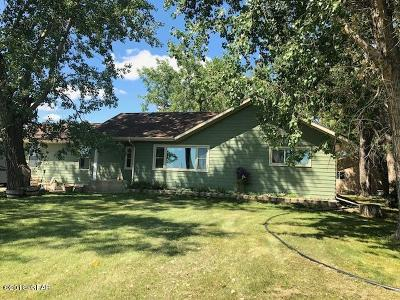 Conrad Single Family Home For Sale: 2741 Pondera Coulee Road