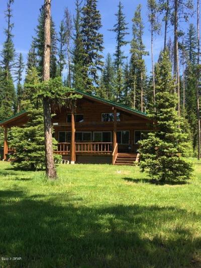 Condon, Potomac, Seeley Lake Single Family Home For Sale: 1163 Leaning Pine Ln