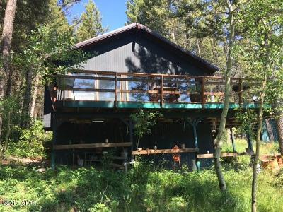 Augusta Single Family Home For Sale: Gibson Lake Cabin Site