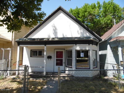 Great Falls  Single Family Home For Sale: 913 2nd Ave S