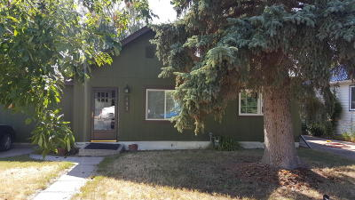 Single Family Home For Sale: 843 Teton Ave