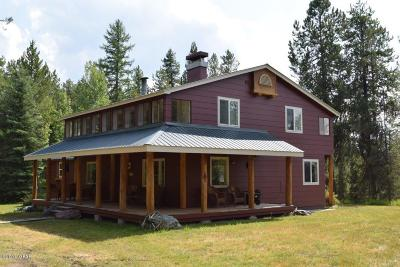 Condon, Potomac, Seeley Lake Single Family Home For Sale: 6601 Hwy 83 N