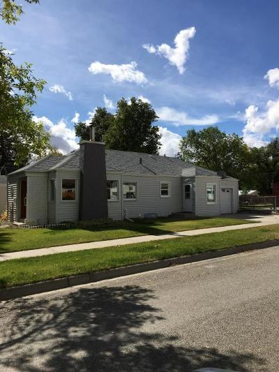 Conrad Single Family Home For Sale: 602 S Wisconsin St