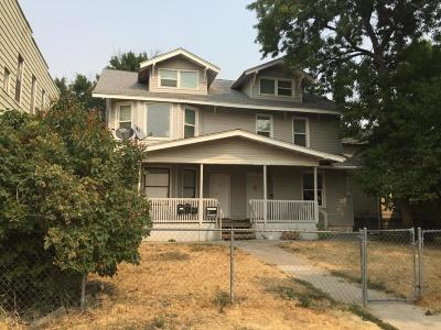 Cascade County, Lewis And Clark County, Teton County Multi Family Home For Sale: 913 2nd Ave N #A-D
