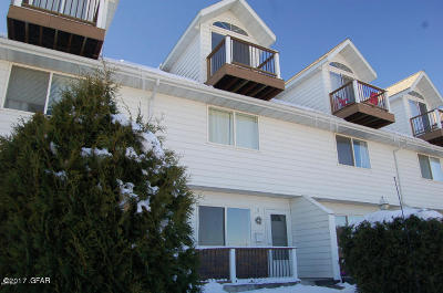 Cascade County, Lewis And Clark County, Teton County Condo/Townhouse For Sale: 1508 5 St NW #5
