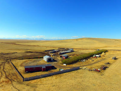 Cascade County, Lewis And Clark County, Teton County Farm For Sale: Nhn Hwy 287