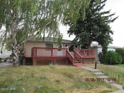 Cascade County, Lewis And Clark County, Teton County Multi Family Home For Sale: 4028, 4030 Ella Ave