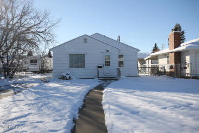 Cascade County, Lewis And Clark County, Teton County Multi Family Home For Sale: 1512 4th Ave S