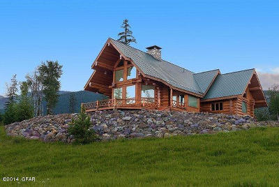 Condon, Potomac, Seeley Lake Single Family Home For Sale: 495 Cooney Trl