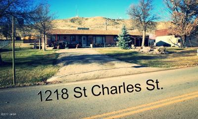 Fort Benton Single Family Home For Sale: 1218 St Charles St