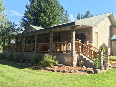Alberton, Saint Regis, Huson, Heron, Noxon, Paradise, Superior, Thompson Falls, Trout Creek Single Family Home For Sale: 1184 Old Mill Lp