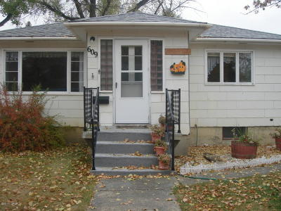 Conrad Single Family Home For Sale: 609 S Wisconsin