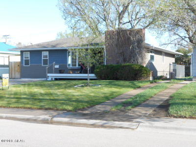 Great Falls  Single Family Home For Sale: 2809 7th Ave N