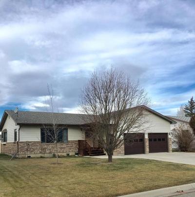 Conrad Single Family Home For Sale: 6 S Kansas St