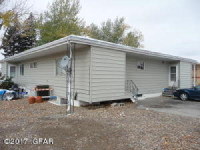 Cascade County, Lewis And Clark County, Teton County Multi Family Home For Sale: 1925 12th Ave S