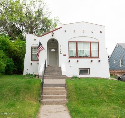 Great Falls Single Family Home For Sale: 2206 2nd Ave N