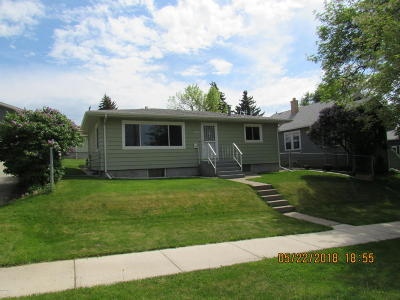 Great Falls  Single Family Home For Sale: 2216 2nd Ave N