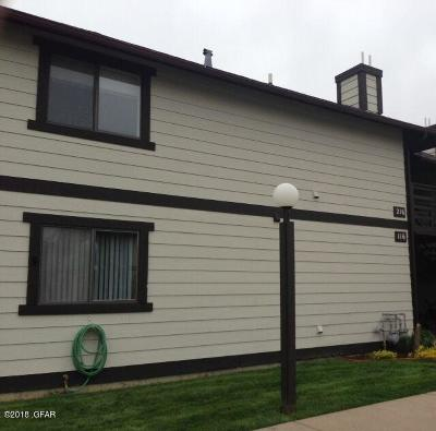 Cascade County, Lewis And Clark County, Teton County Condo/Townhouse For Sale: 1505 9th St NW #215