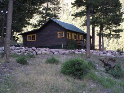 Condon, Potomac, Seeley Lake Single Family Home For Sale: 43688 Big Waters Ranch Rd