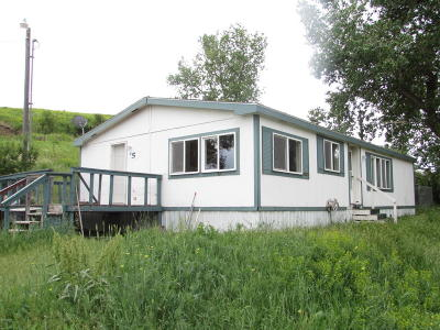 Stockett MT Single Family Home For Sale: $84,900
