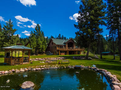 Condon, Potomac, Seeley Lake Single Family Home For Sale: 389 Airport Rd