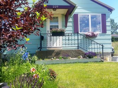 Cut Bank Single Family Home For Sale: 229 1st Ave SE