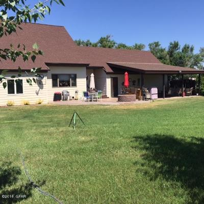 Great Falls Single Family Home For Sale: 412 27th St NW