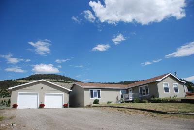 White Sulphur Springs Single Family Home For Sale: 701 Us Highway 89 N