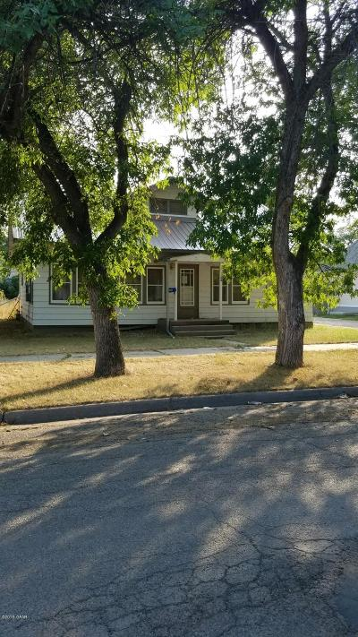 Fort Benton Single Family Home For Sale: 1108 17th St