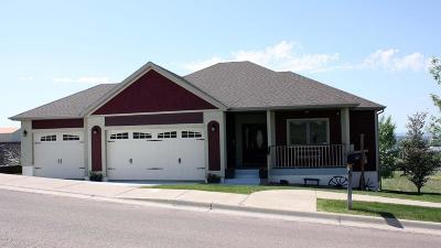 Great Falls  Single Family Home For Sale: 1000 Skyline Dr NE