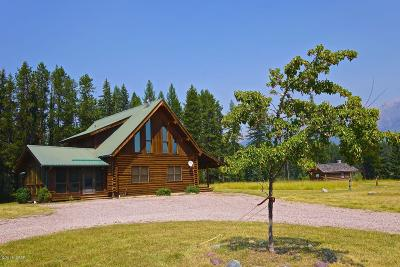 Condon, Potomac, Seeley Lake Single Family Home For Sale: 6378 Hwy 83 N