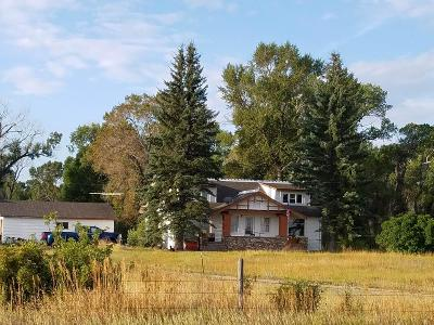 Fort Shaw, Simms, Sun River, Augusta, Brady, Conrad, Dupuyer, Valier, Bynum, Choteau, Dutton, Fairfield, Power Single Family Home For Sale: 1821 N Us Highway 287