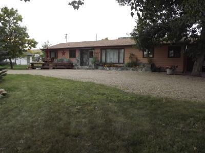 Fort Benton Single Family Home For Sale: 1218 St. Charles St