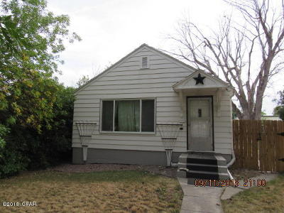 Great Falls Single Family Home For Sale: 920 2nd Ave NW