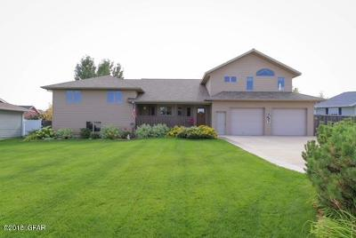 Great Falls Single Family Home For Sale: 1324 Alpine Dr
