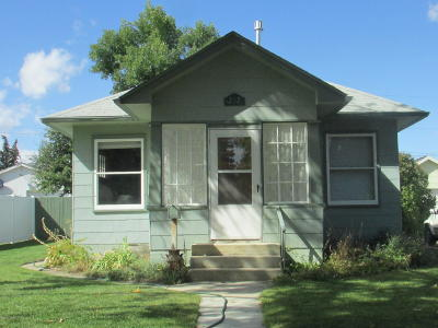 Conrad Single Family Home For Sale: 212 Wisconsin St S