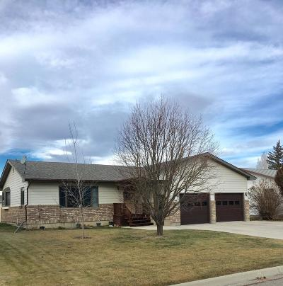 Conrad Single Family Home For Sale: 6 S Kansas St