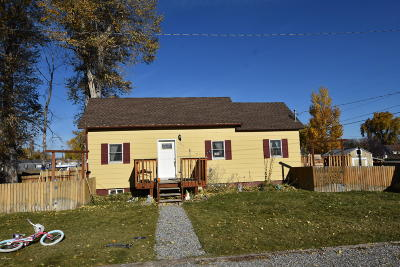 Choteau Single Family Home For Sale: 315 3rd St St SW