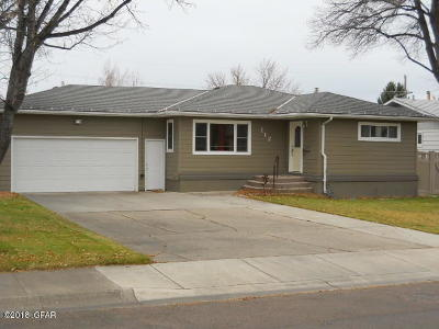 Great Falls Single Family Home For Sale: 712 Riverview Dr E