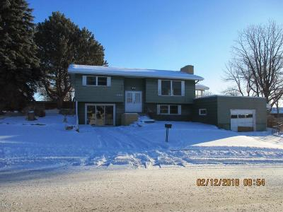 Great Falls  Single Family Home For Sale: 1401 11th St NW