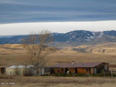 Great Falls, Black Eagle, Belt, Ulm Single Family Home For Sale: 596 Upper Millegan Rd