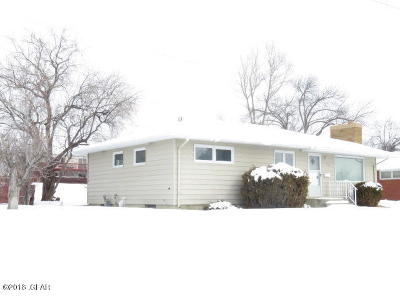 Great Falls Single Family Home For Sale: 105 Riverview Dr E